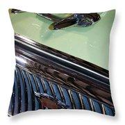 1957 Nash Statesman Super Throw Pillow by David Patterson