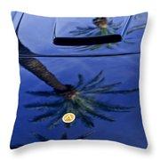 1963 Apollo Hood Throw Pillow by Jill Reger