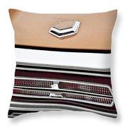 1966 Ford Thunderbird Throw Pillow by Gordon Dean II