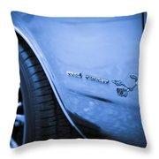 1971 Plymouth Road Runner Throw Pillow by Gordon Dean II