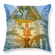 Alchemy Throw Pillow by Science Source