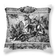 Battle Of Fallen Timbers Throw Pillow by Granger