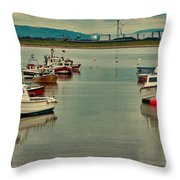 Calm Waters Throw Pillow by Trevor Kersley