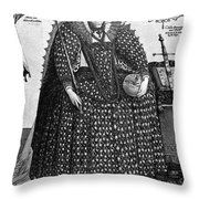 Elizabeth I (1533-1603) Throw Pillow by Granger