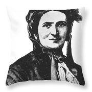 ELLEN CRAFT (b.1826) Throw Pillow by Granger