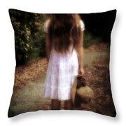 Farewell Throw Pillow by Joana Kruse