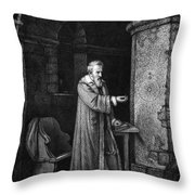 Galileo Galilei (1564-1642) Throw Pillow by Granger