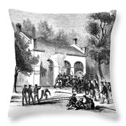 Harpers Ferry Throw Pillow by Granger
