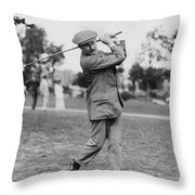 Harry Vardon (1870-1937) Throw Pillow by Granger