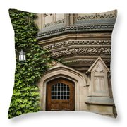 Ivy League Throw Pillow by John Greim