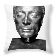 John Keats (1795-1821) Throw Pillow by Granger