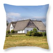 Munkmarsch - Sylt Throw Pillow by Joana Kruse
