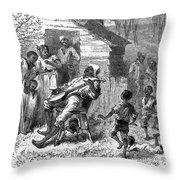 Plantation Life Throw Pillow by Granger