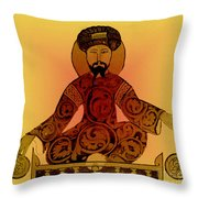 Saladin, Sultan Of Egypt And Syria Throw Pillow by Science Source