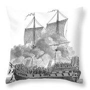 SLAVERY: SLAVE SHIP Throw Pillow by Granger