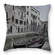 Venice - Italy Throw Pillow by Joana Kruse