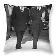DWIGHT D. EISENHOWER Throw Pillow by Granger