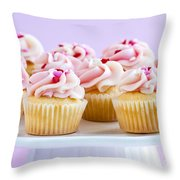 Cupcakes Throw Pillow by Elena Elisseeva