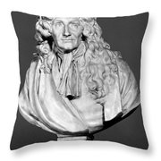 Jean De La Fontaine Throw Pillow by Granger