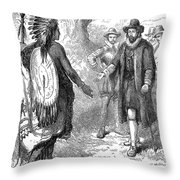 JOHN WINTHROP (1588-1649) Throw Pillow by Granger
