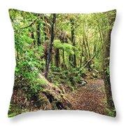 Native bush Throw Pillow by MotHaiBaPhoto Prints