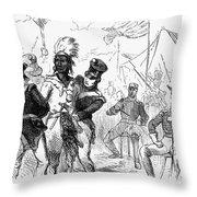 Osceola (1800?-1838) Throw Pillow by Granger