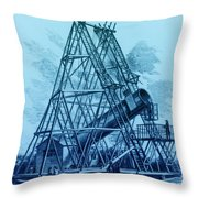 Reflecting Telescope, 1789 Throw Pillow by Science Source