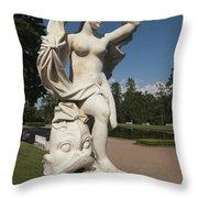 Sculpture Throw Pillow by Igor Sinitsyn