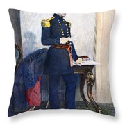 John Ellis Wool (1784-1869) Throw Pillow by Granger