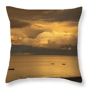Sunderland, Tyne And Wear, England Throw Pillow by John Short