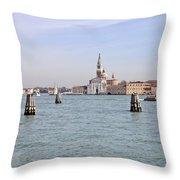 Venice Throw Pillow by Joana Kruse