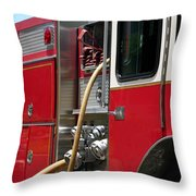 Barnett Fire Throw Pillow by Henrik Lehnerer