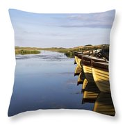 Dunfanaghy, County Donegal, Ireland Throw Pillow by Peter McCabe