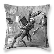 John Marshall (1755-1835) Throw Pillow by Granger