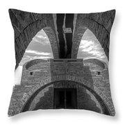 Monte Tamaro Throw Pillow by Joana Kruse