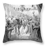 Perrault: Cinderella, 1867 Throw Pillow by Granger