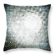 Abstract Of Circle Throw Pillow by Setsiri Silapasuwanchai
