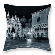Venice Throw Pillow by Joana Kruse