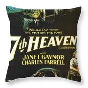 7th Heaven Throw Pillow by Georgia Fowler