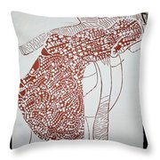 Jesus The Good Shepherd Throw Pillow by Gloria Ssali