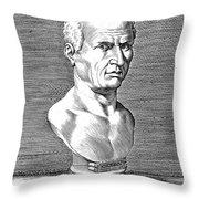 Marcus Tullius Cicero Throw Pillow by Granger