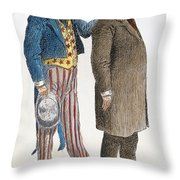 PRESIDENTIAL CAMPAIGN, 1904 Throw Pillow by Granger