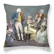 GEORGE III (1738-1820) Throw Pillow by Granger