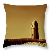 A Bridge Of Two Cities Throw Pillow by Dana DiPasquale