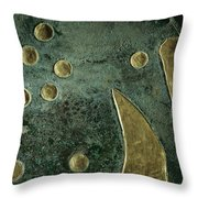 A Close View Of The Sky Throw Pillow by Kenneth Garrett
