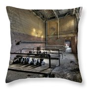 A Step Back In Time Throw Pillow by Lori Deiter