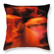 A Time-exposed View Of A Performance Throw Pillow by Michael Nichols