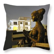 A Trashed Sculpture Throw Pillow by Sumit Mehndiratta