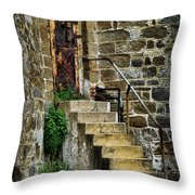 Abandon Hope Throw Pillow by Paul Ward