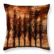 Absolution Throw Pillow by Brett Pfister